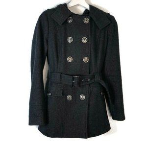 M60 Miss Sixty Small Wool Peacoat Jacket Double
